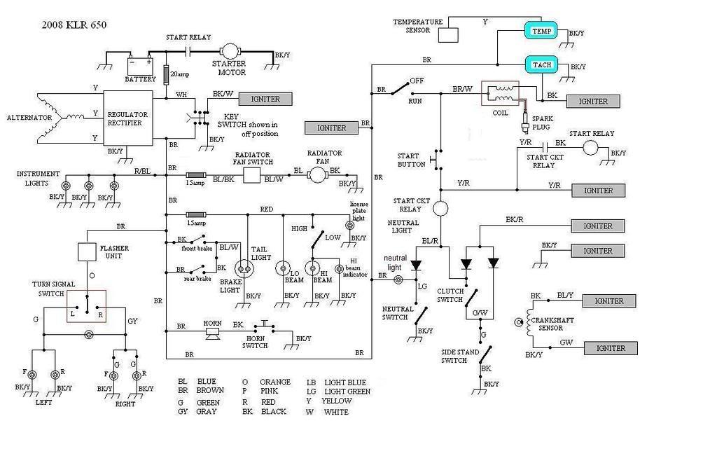 kl600 wiring diagram klr wiring diagram wiring diagrams cars ford klr wiring diagram wiring diagrams cars klr650 2006 rewiring kawasaki klr 650 forum